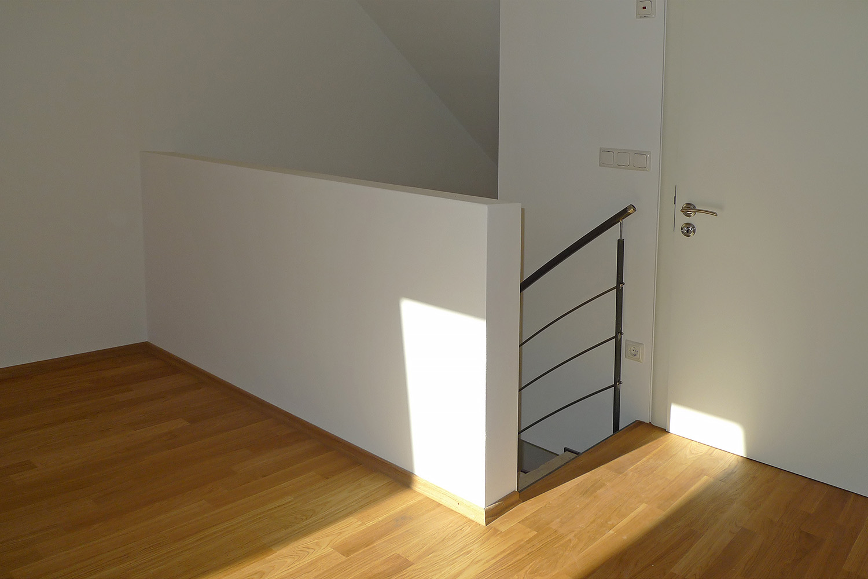 Reihenhausausbau München Moosach Reihenhaus Wohnhaus Dachgeschoss Treppe