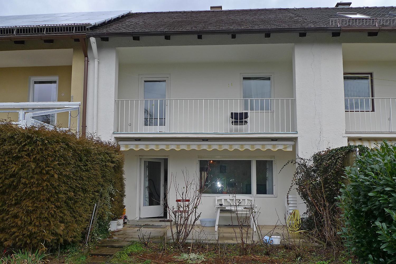 Reihenhausausbau München Moosach Reihenhaus Wohnhaus Bestand aussen Fassade
