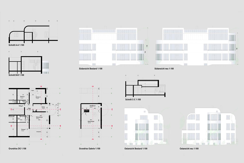 Wohnung Nymphenburg Eingabeplan