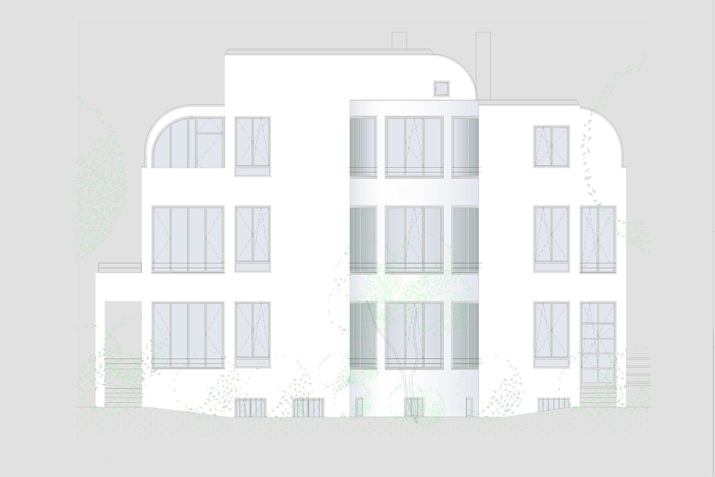 Wohnung Nymphenburg Eingabeplan Ansicht