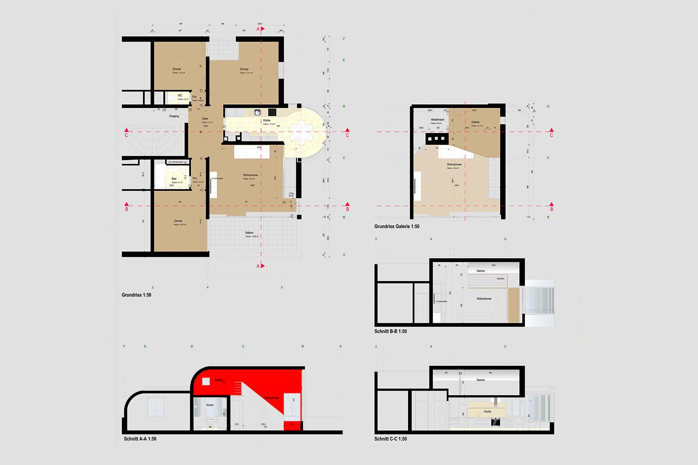 Wohnung Nymphenburg Werkplan
