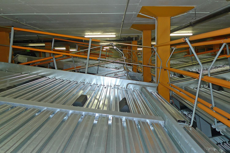 Sanierung Duplexparker Umbau Parkgarage