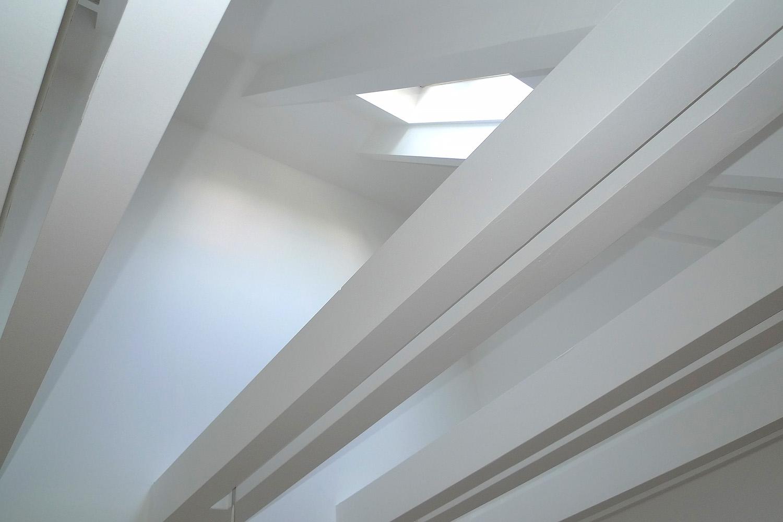 Reihenhaus Kleinhadern Wohnhaus Baustelle Dachgeschoss Detail