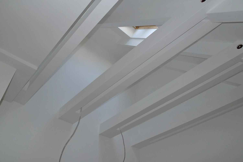 Reihenhaus Kleinhadern Wohnhaus Baustelle Dachgeschoss