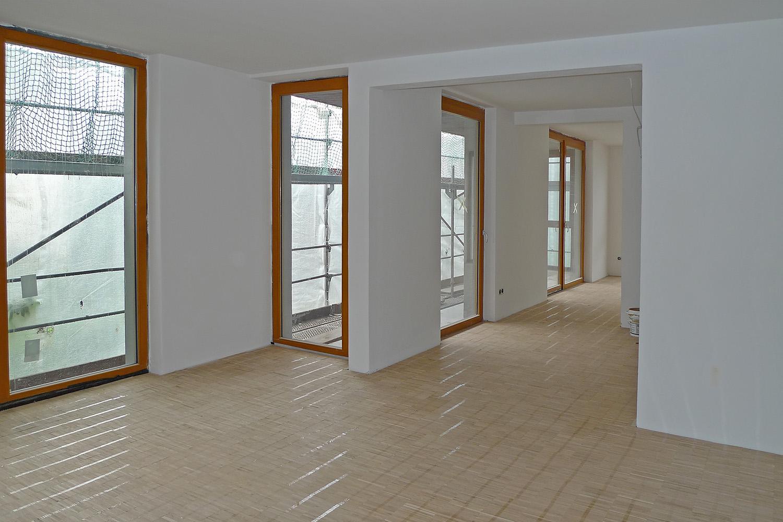 Wohnhaus München-Obermenzing Boden Baustelle
