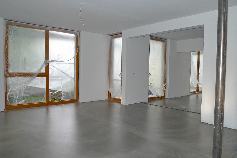 Wohnhaus München-Obermenzing Zimmer Fenster Estrich
