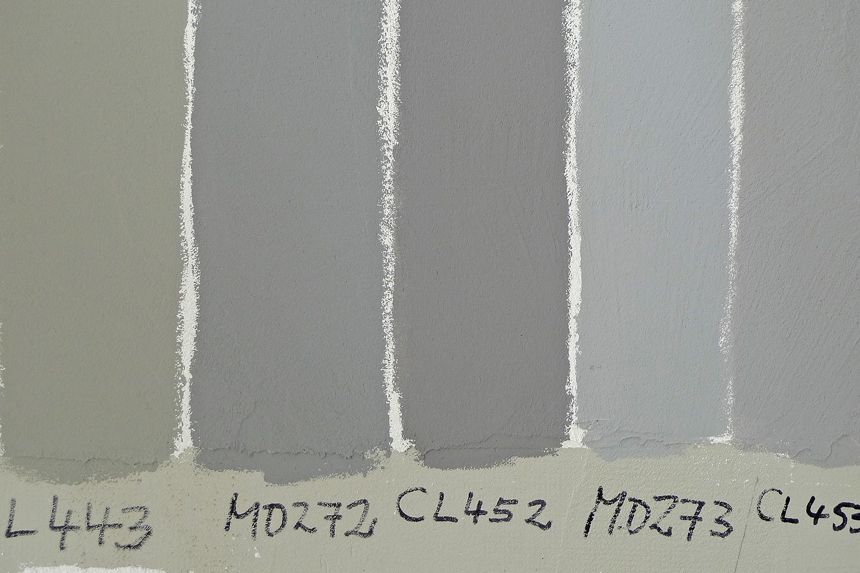 Wohnhaus München-Obermenzing Farb Muster