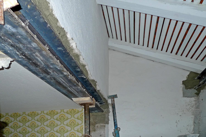 Wohnhaus Planegg Baustelle Dachgeschoss