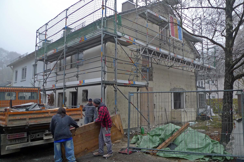 Wohnhaus Planegg Umbau Bauarbeiten