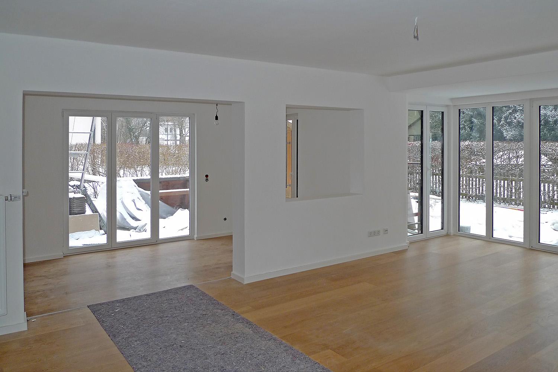 Wohnhaus Planegg Umbau Wohnzimmer Überblick