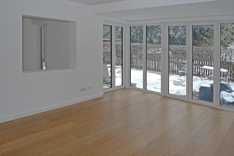 Wohnhaus Planegg Umbau Wohnzimmer