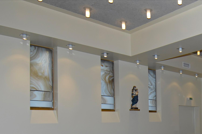 Eingangsbereich Senioren-Wohnstift Bonn Bornheim Eingang Kapelle Madonna