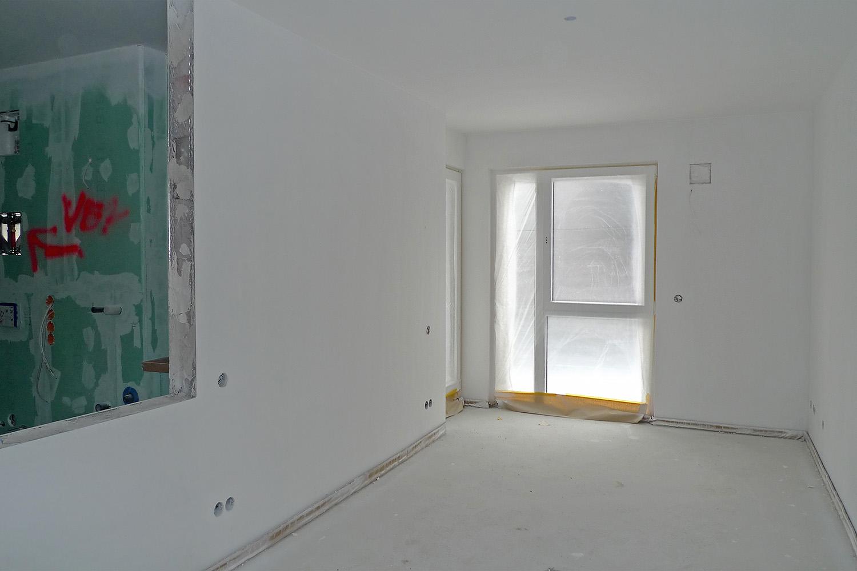 Wohnung Pasing Ausbau Umbau Flur Baustelle