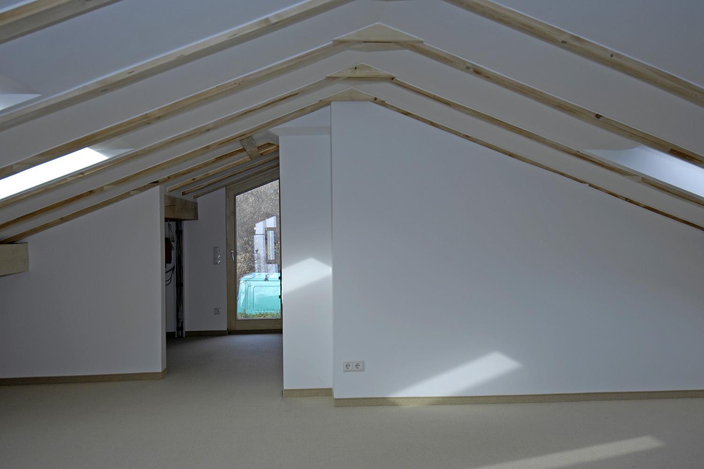 Wohnhaus Pilsensee Umbau Ausbau Dach