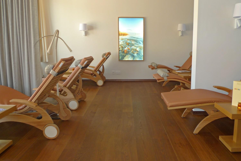 Wellnessbereich Senioren-Wohnstift Vitalisarium Ainring Spa Senioren Ruheraum