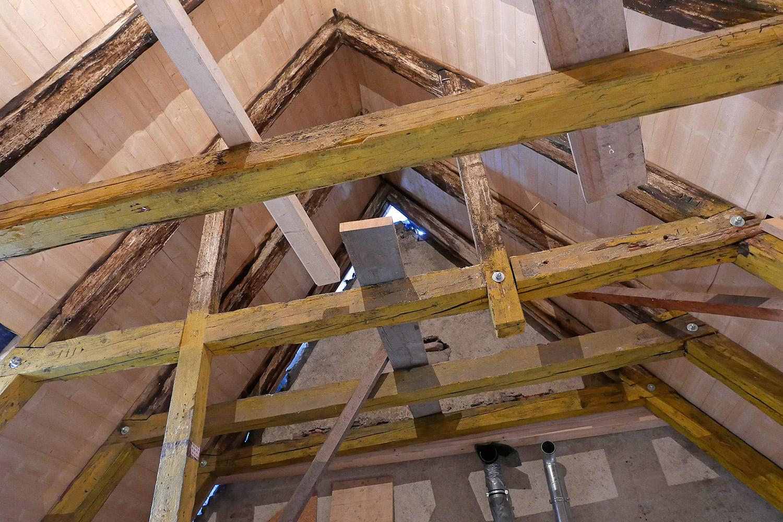 Sanierung Augsburg Dachstuhl Spitzboden