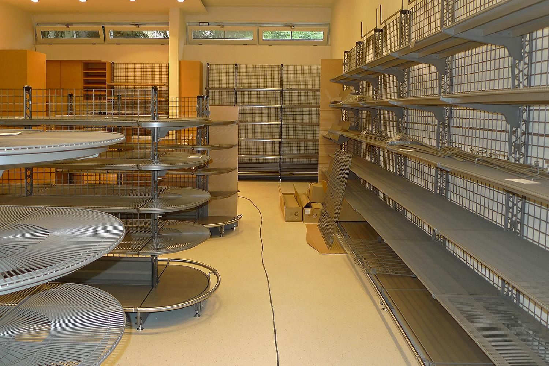 Feinkostladen Senioren-Wohnstift Ainring Laden Baustelle Verkaufsraum