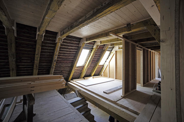 Sanierung Augsburg Dachstuhl Zimmererarbeiten