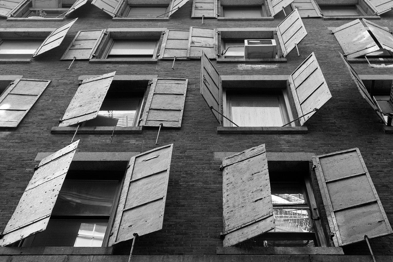 Fotografie New York Fensterläden