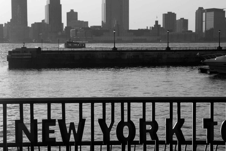Fotografie New York Hudson River