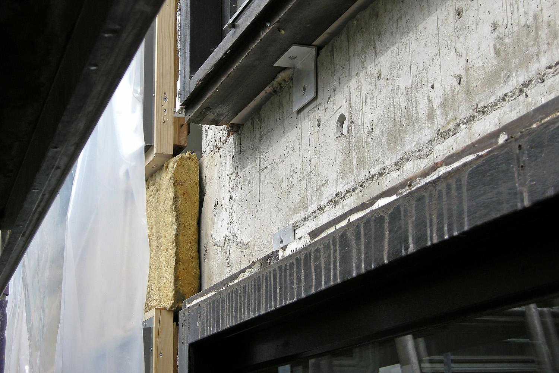 Fenster Senioren-Wohnstift Ainring Erneuerung Detail Baustelle
