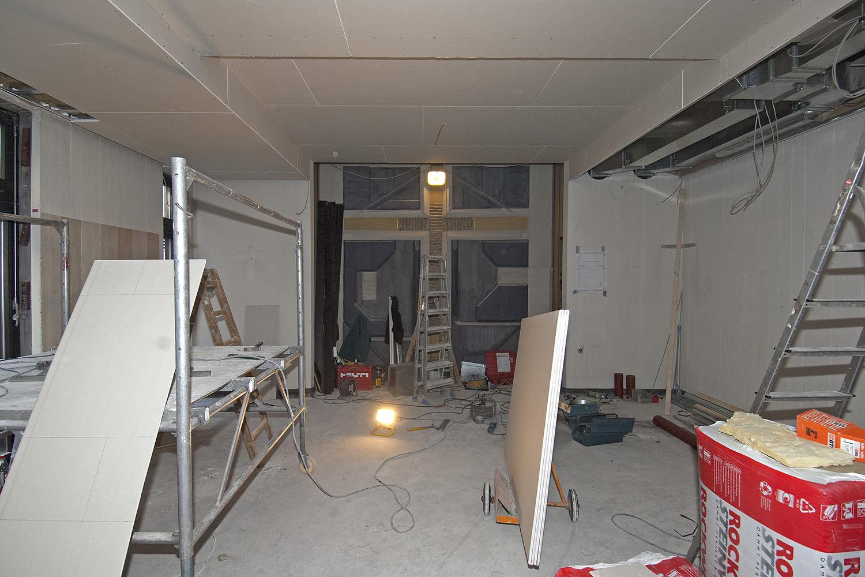 Kapelle Senioren-Wohnstift Ainring Baustelle Arbeiten