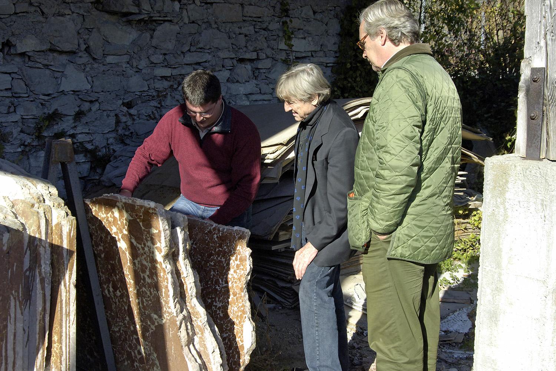 Kapelle Senioren-Wohnstift Ainring Materialfestlegung