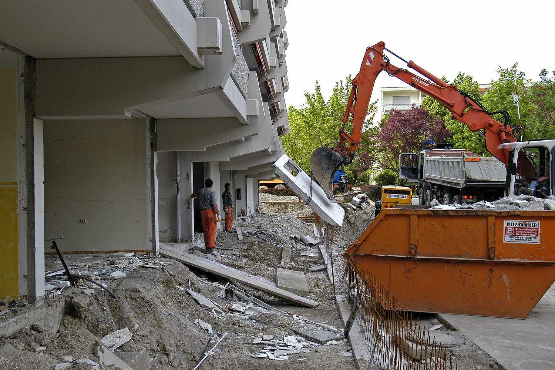 Pflegewohnbereich Senioren-Wohnstift Ainring Pflegestation Betonschneidearbeiten