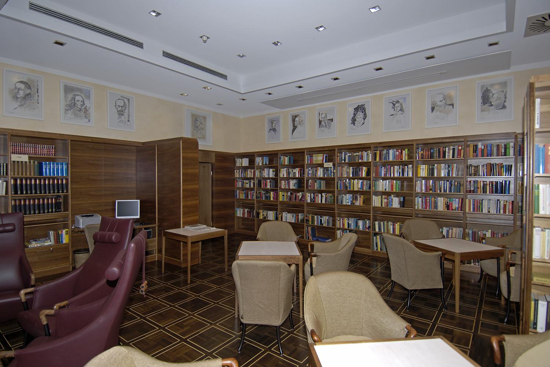 Senioren-Wohnstift Bibliothek Bonn Übersicht