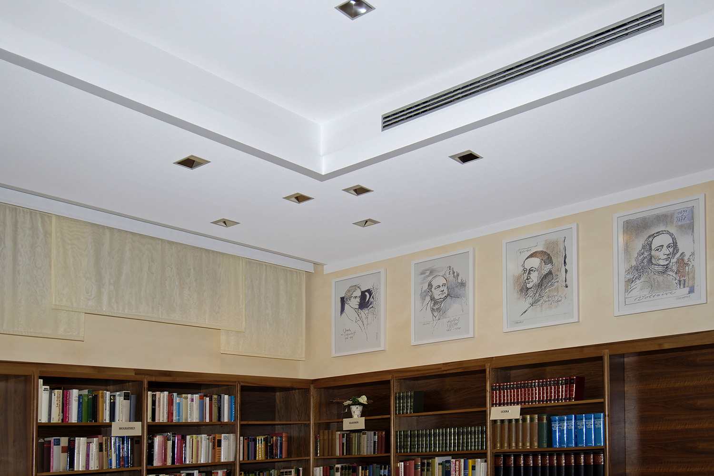 Senioren-Wohnstift Bibliothek Bonn Bilder Zeichnungen